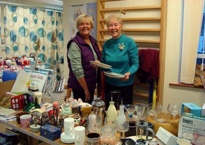 Fundraising, bric a brac stall