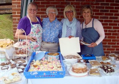 Fundraising, cake stall