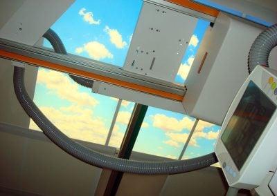 Overhead light panels